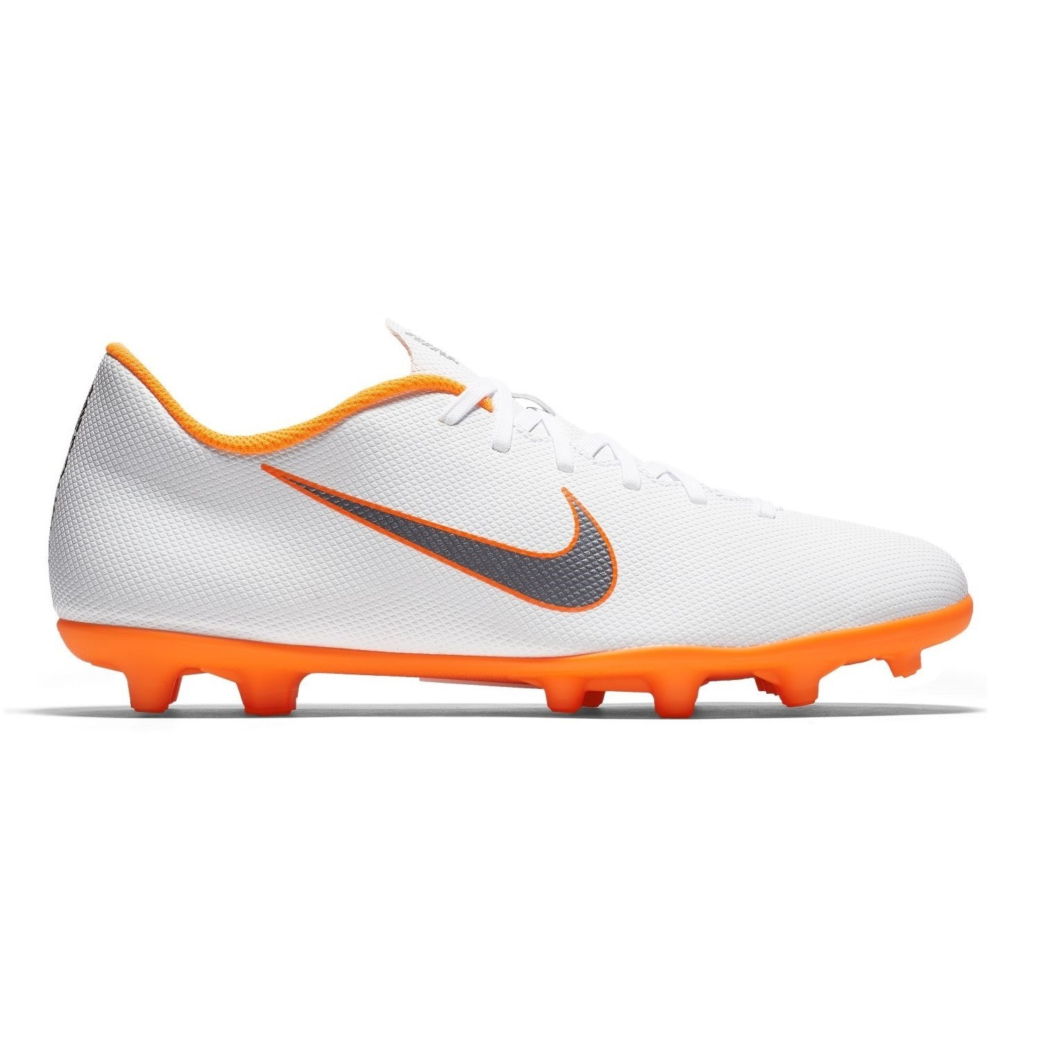 quality design 39460 8bd00 Nike Mercurial Vapor XII Club FG/MG - Mens Football Boots - White/Metallic