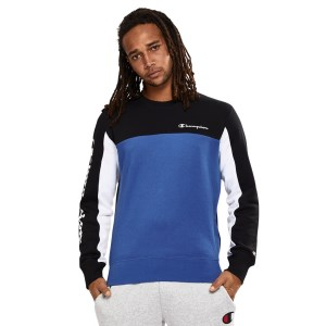 Champion Colour Block Crew Mens Sweatshirt