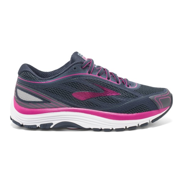 Brooks Dyad 9 - Womens Running Shoes - Festival Fuchsia/Ombre Blue