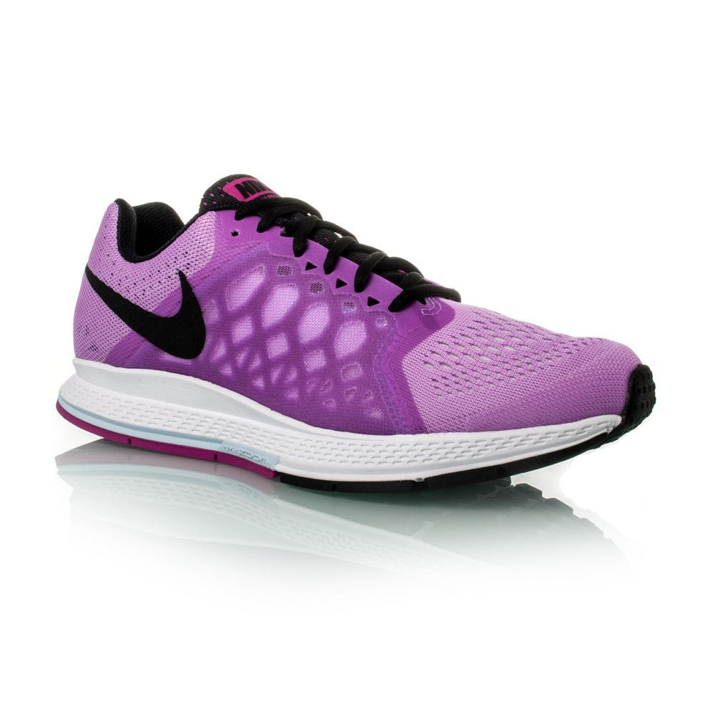 100% authentic 40d5e d69ce Nike Air Zoom Pegasus 31 - Womens Running Shoes - Fuchsia Glow Black White