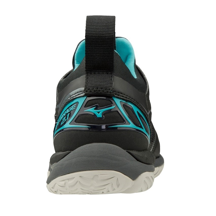 580679218d4b Mizuno Wave Mirage 2.1 - Womens Netball Shoes - Black/Blue Curacao ...