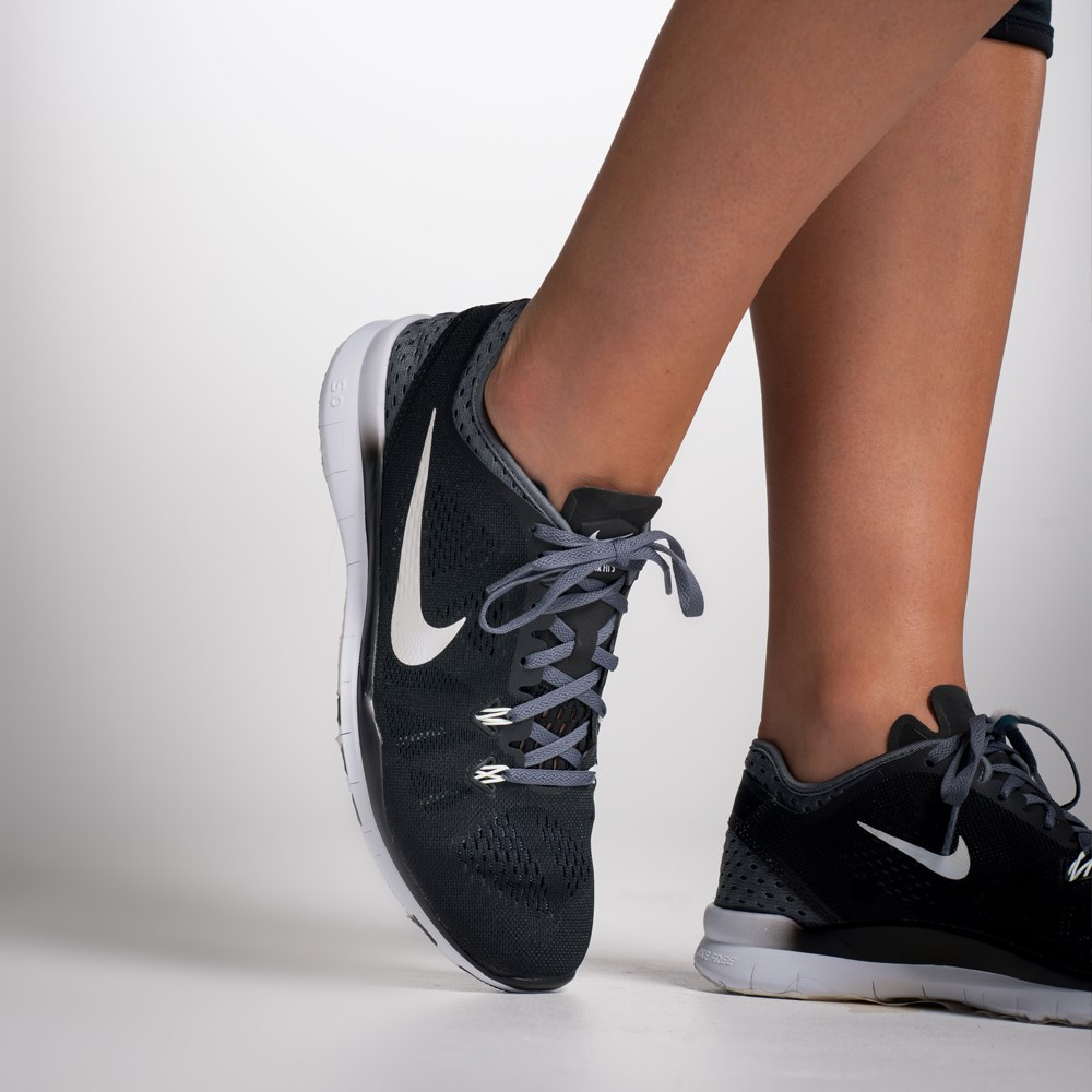 Nike Free 5.0 Tr Fit 5 Training Shoes Women Black