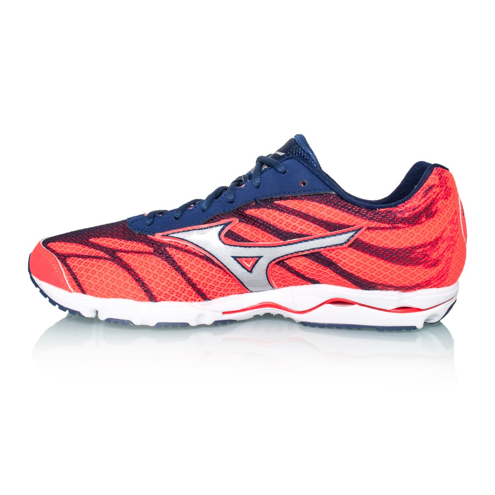 57160a4f1fcfd5 Mizuno Wave Hitogami 3 - Womens Running Shoes - Fiery Coral