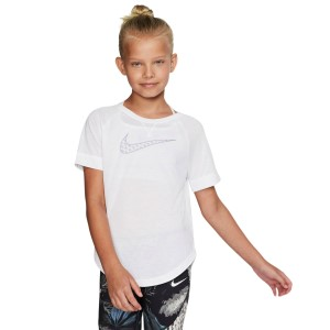 Nike Dri-Fit Trophy Graphic Kids Girls Training T-Shirt