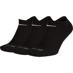 Nike Performance Cushion Unisex No Show Training Socks - 3 Pack