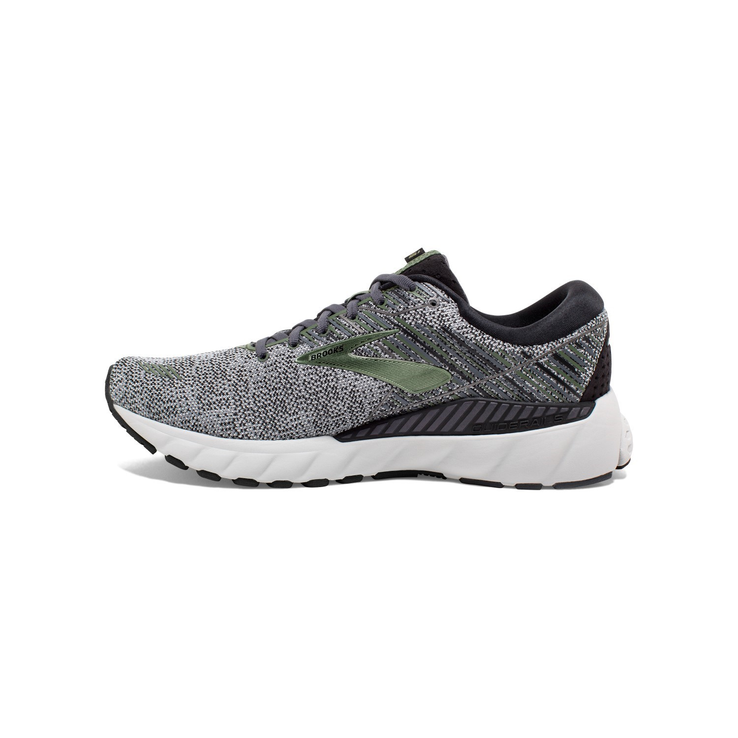 Brooks Adrenaline GTS 19 Knit - Mens Running Shoes - Black