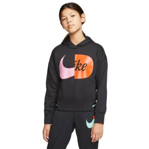 Nike Icon Clash Sportswear Fleece Kids Girls Hoodie