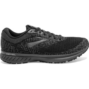 Brooks Revel 3 - Mens Running Shoes - Black/Pearl/Primer