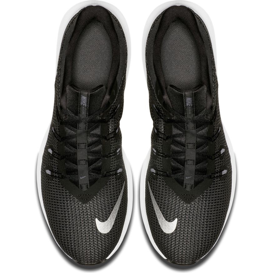 Nike Quest - Mens Running Shoes - Black/Metallic Silver