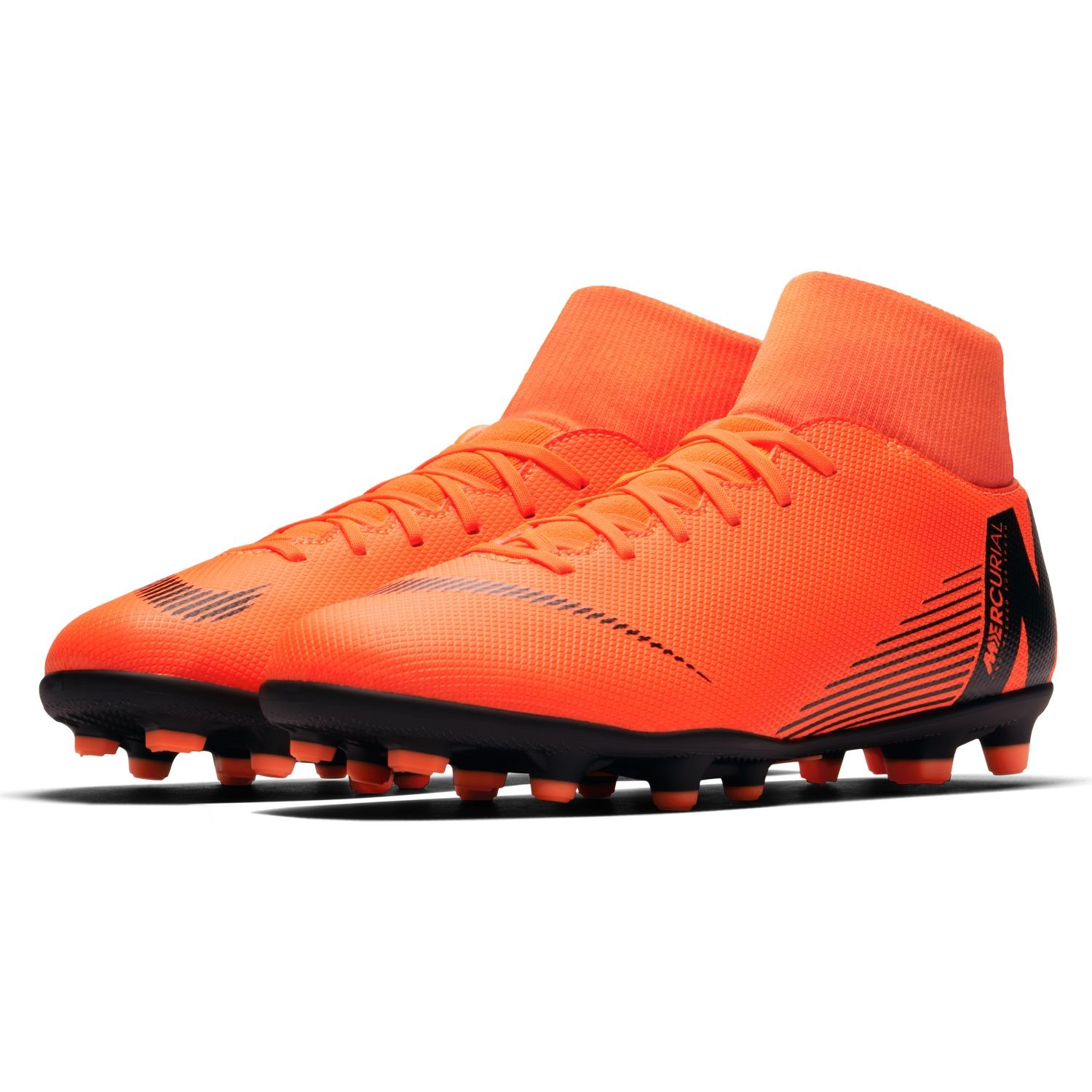 the latest 3528a 006de Nike Mercurial Superfly VI Club MG - Mens Football Boots - Total Orange Black