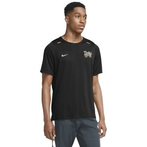 Nike Dri-Fit Rise 365 Wild Run Mens Running T-Shirt