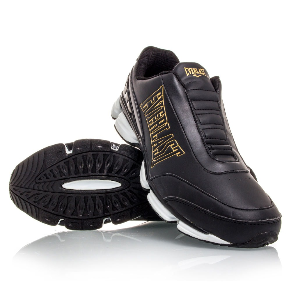 everlast the conlan smu mens casual shoes black gold