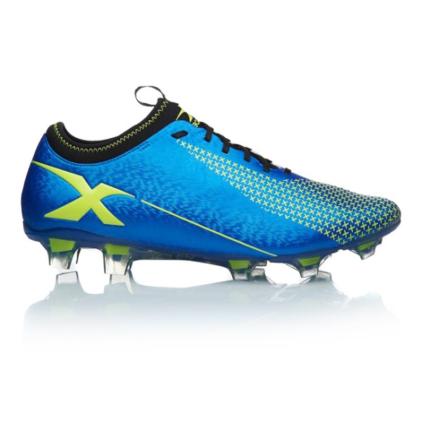 XBlades Micro Jet 18 - Mens Football Boots - Blue/Volt Yellow