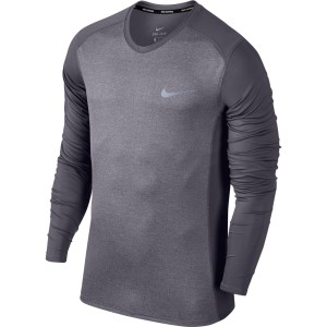 Nike Dry Miler Mens Long Sleeve Running Top