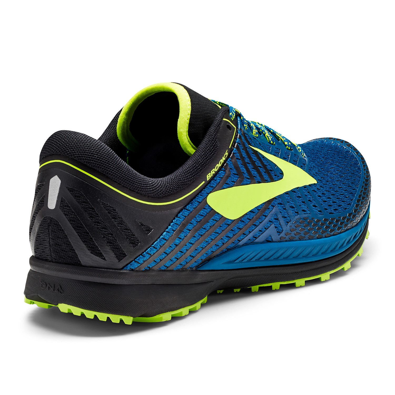 mazama men Brooks mazama biomogo dna midsole cushioning-dynamically adapts to every step and stride decoupled midfoot-allows the heel and forefoot to move independently for a powerful push-off.