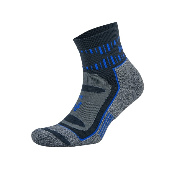 Balega Blister Resist Quarter Running Socks - Ink/Cobalt