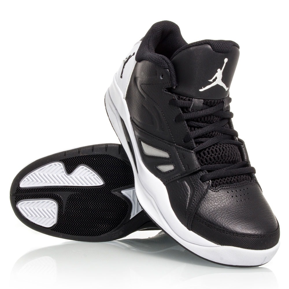 620a604a22e2 Jordan Ace 23 - Mens Basketball Shoes - Black White