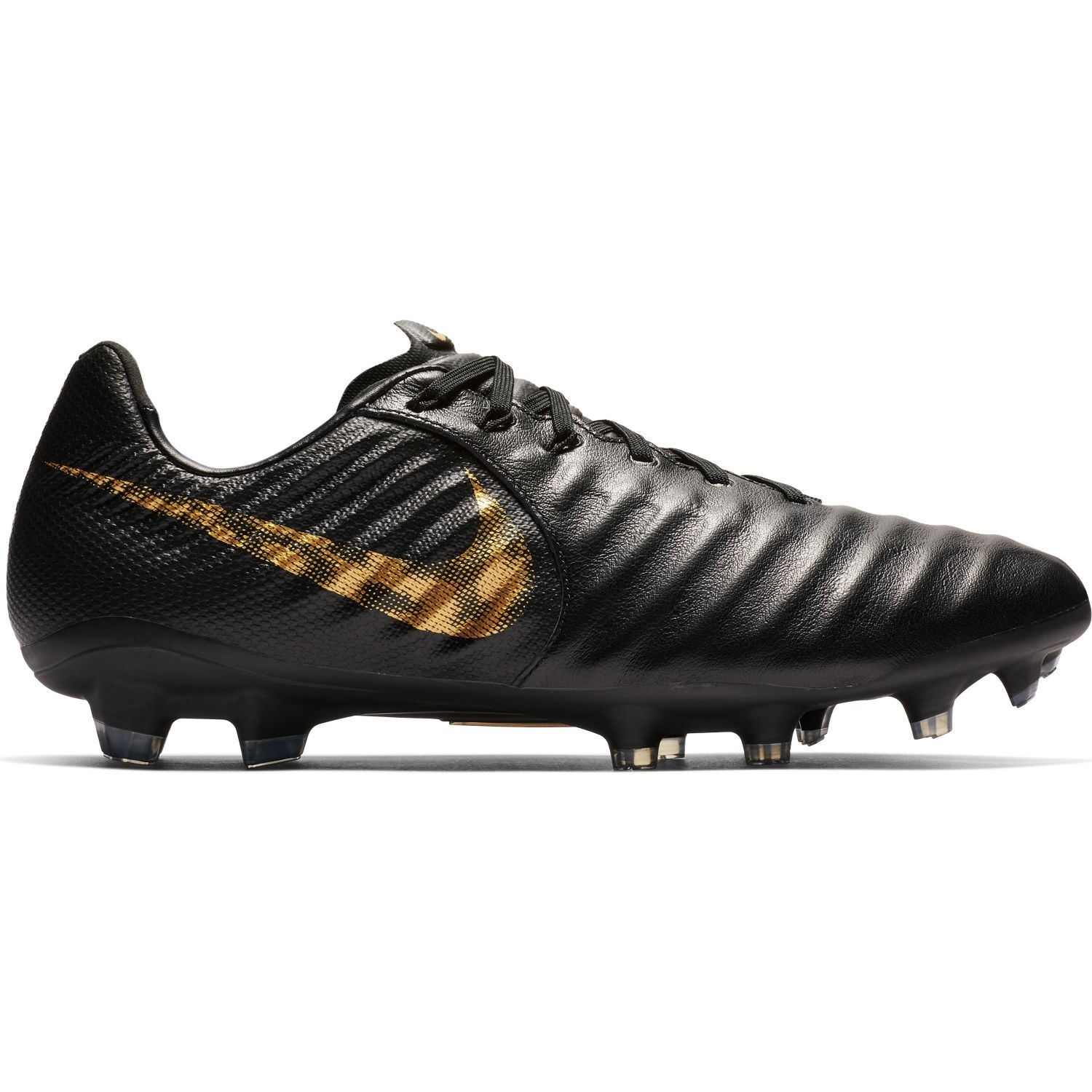 4e8757f19 Nike Tiempo Legend VII Pro FG - Mens Football Boots - Black Metallic Vivid  Gold