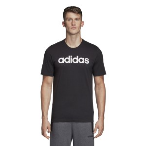 Adidas Essentials Linear Logo Mens Casual T-Shirt