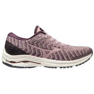 Mizuno Wave Rider 24 Waveknit - Womens Running Shoes