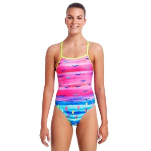 Funkita Tie Me Tight Womens One Piece Swimsuit