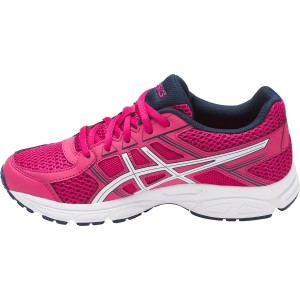 Asics Gel Contend 4 GS - Kids Girls Running Shoes - Cosmo Pink/White/Indigo Blue