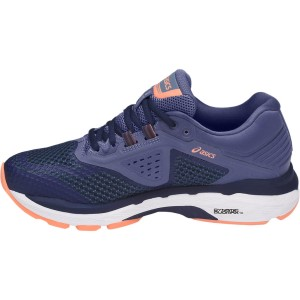 Asics GT-2000 6 (2A/D/2E) - Womens Running Shoes - Indigo Blue/Smoke Blue