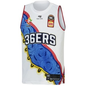 First Ever Adelaide 36ers Indigenous 2019/20 Kids Basketball Jersey