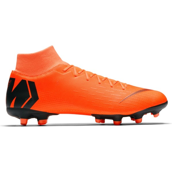 Nike Mercurial Superfly VI Academy MG - Mens Football Boots - Total Orange/Black