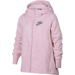Nike Sportswear Full Zip Kids Girls Hoodie