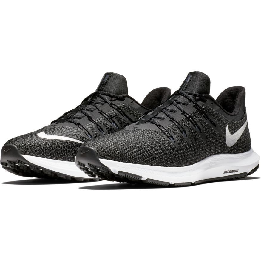 Nike Quest - Womens Running Shoes - Black/Mettalic Silver