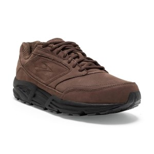 Brooks Addiction Walker - Mens Walking Shoes - Brown Nubuck