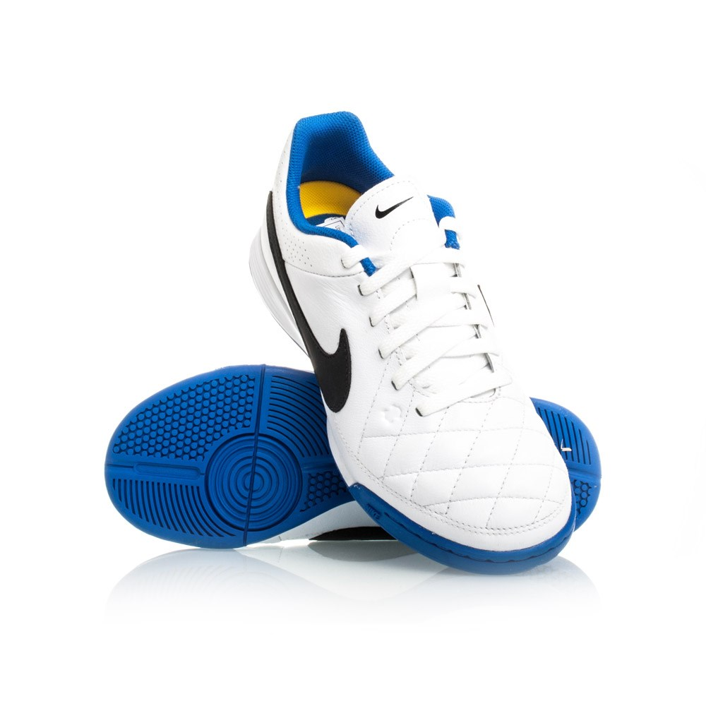 Nike Blue Indoor Soccer Shoes