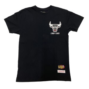 Mitchell & Ness Chicago Bulls Retro Repeat Mens Basketball T-Shirt