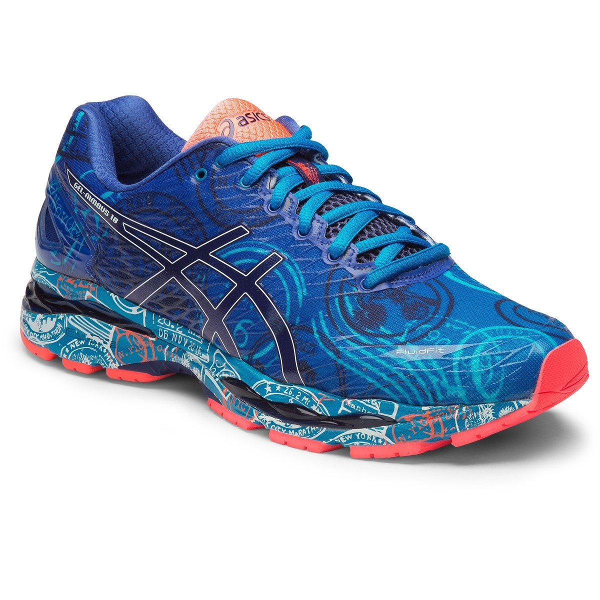 asics gel nimbus 18 nyc limited edition mens running. Black Bedroom Furniture Sets. Home Design Ideas