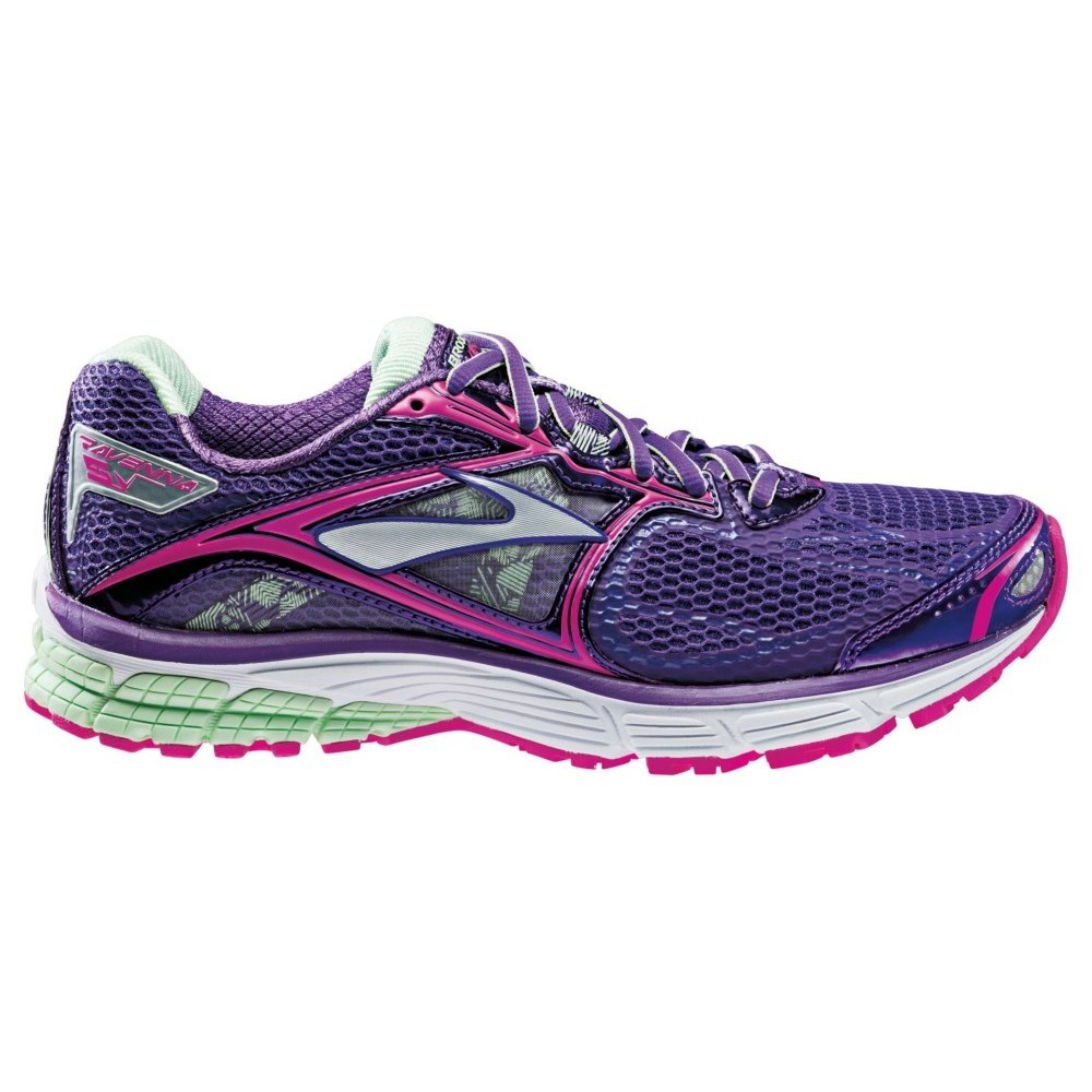 b7baa9a7805 Brooks Ravenna 5 - Womens Running Shoes - Tillandsia Purple Fuschsia Patina  Green