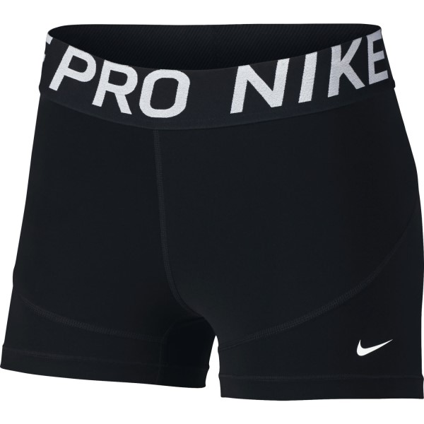 Nike Pro 3 Inch Womens Training Shorts - Black