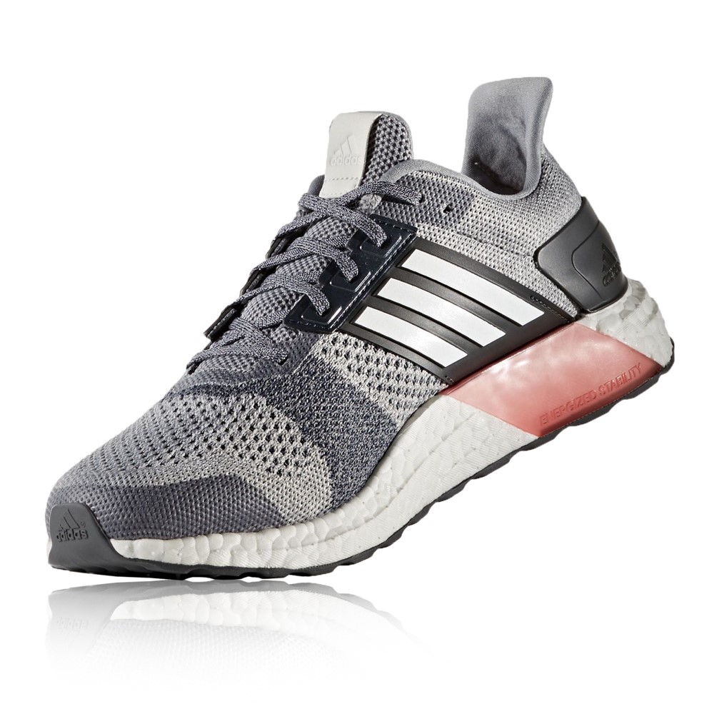 ultra boost grey red