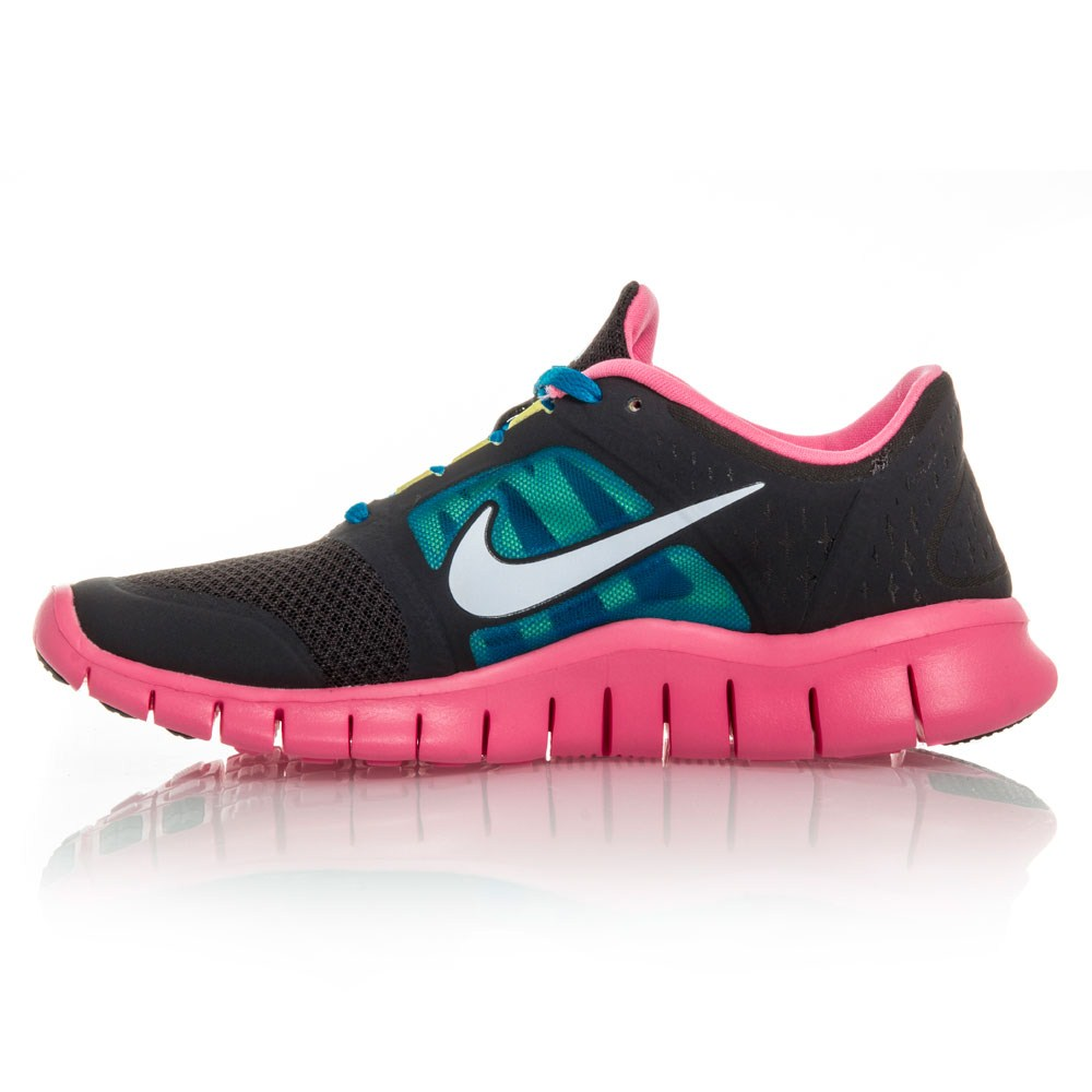 wholesale dealer 6ab83 efbcf junior nike free runs pink sneakers