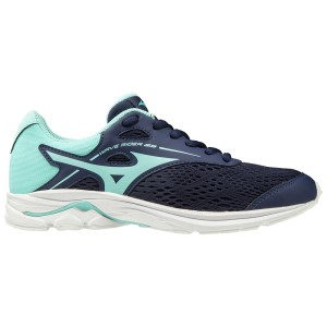 Mizuno Wave Rider 23 - Kids Girls Running Shoes