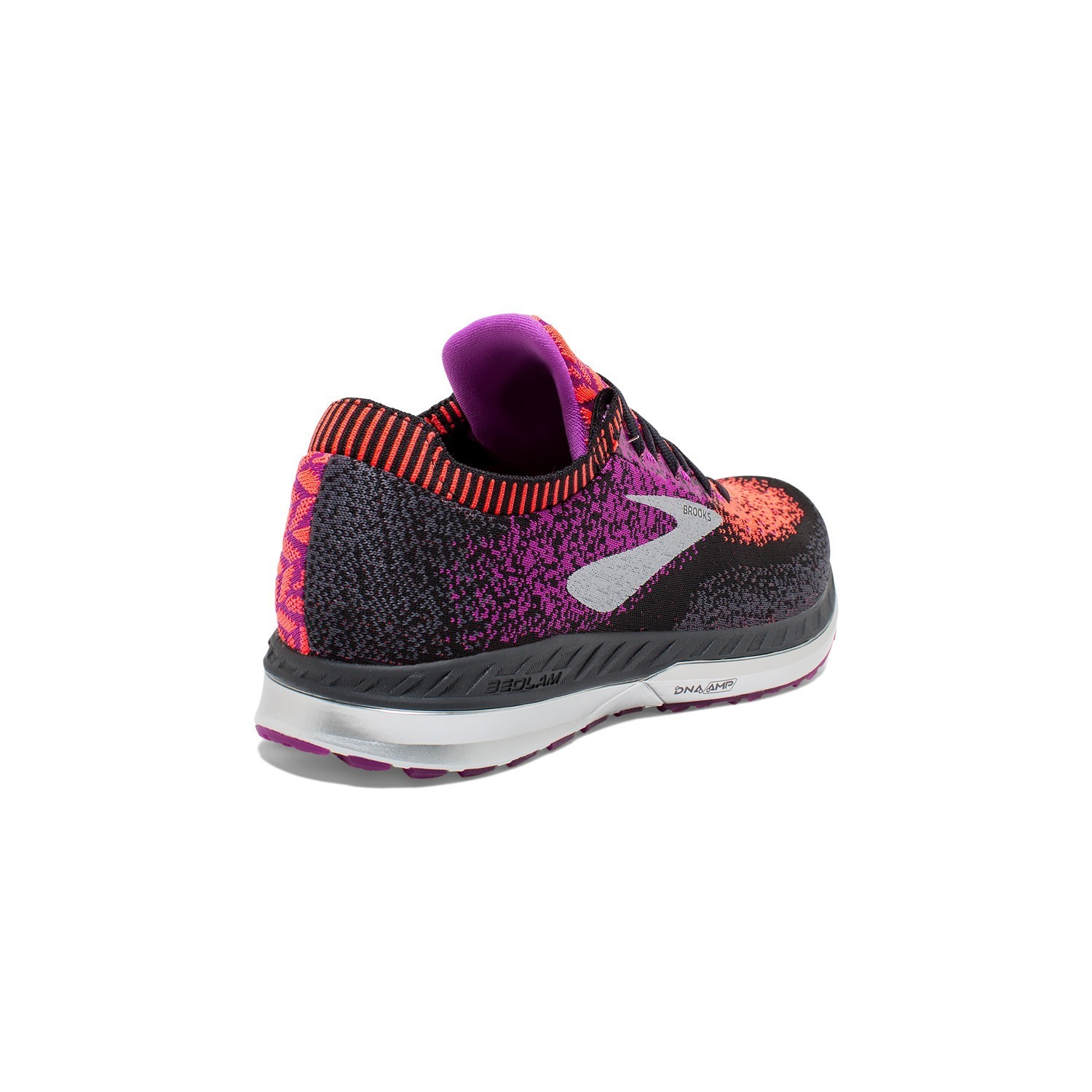 ce7e98afc652f Brooks Bedlam - Womens Running Shoes - Black Purple Coral