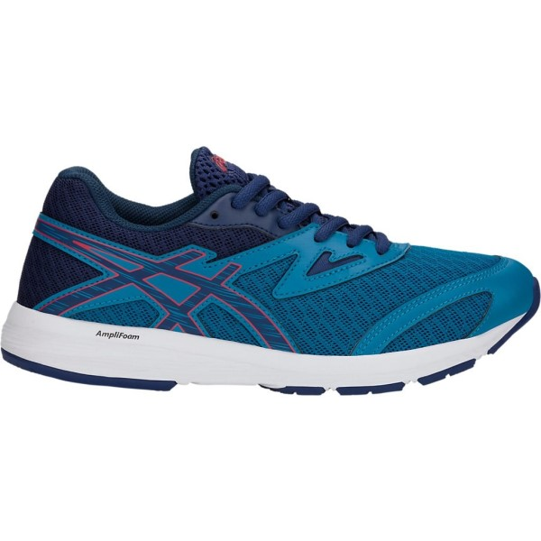 Asics Gel Amplica GS - Kids Boys Running Shoes - Race Blue/Deep Ocean
