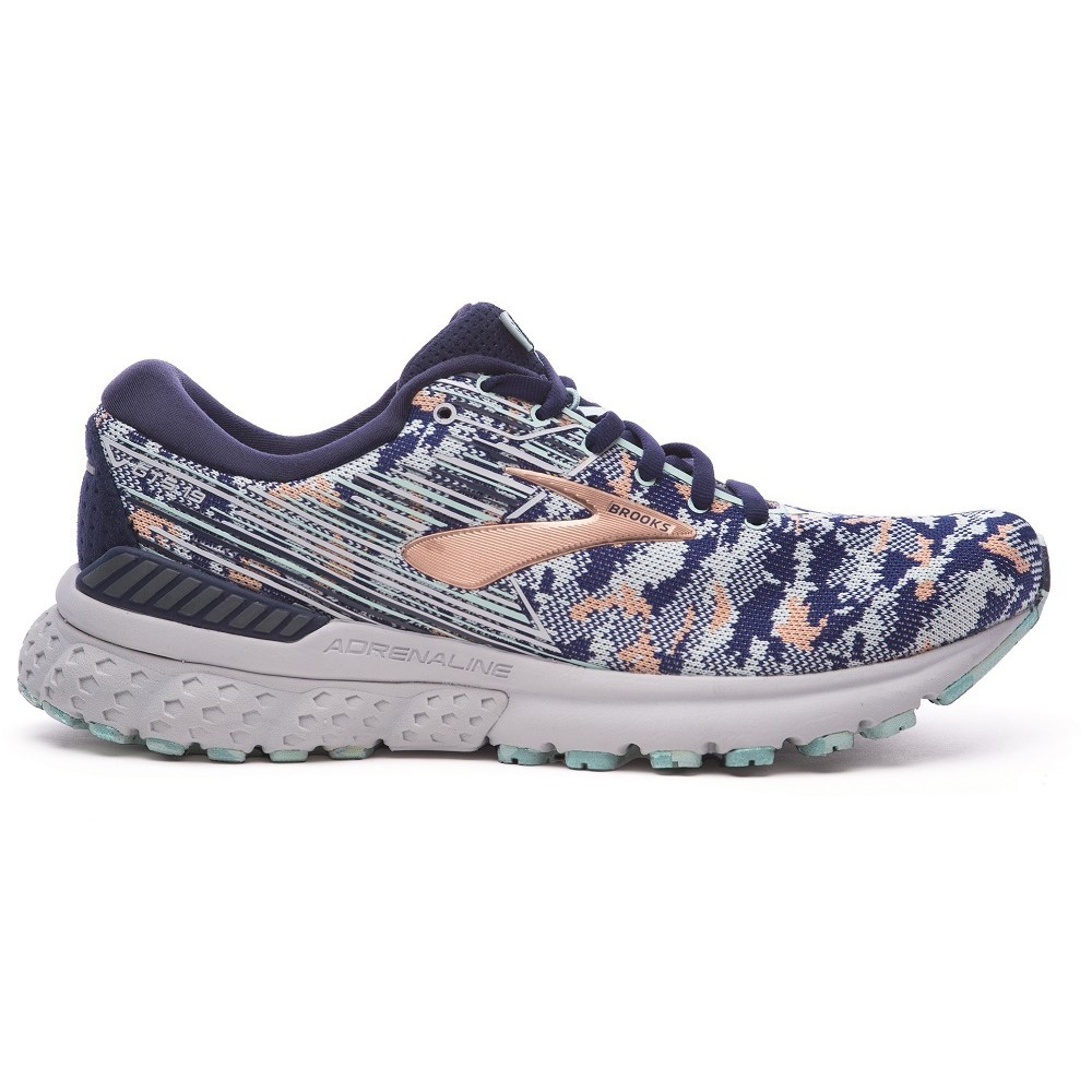 d34296d217a Brooks Adrenaline GTS 19 LE Camo Pack - Womens Running Shoes - Navy Coral