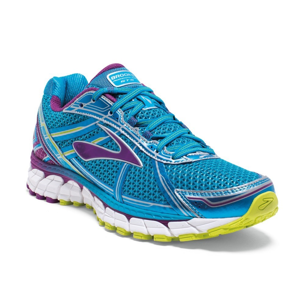 e41917f622e Brooks Adrenaline GTS 15 - Womens Running Shoes - Hawaiian Ocean Lime Punch