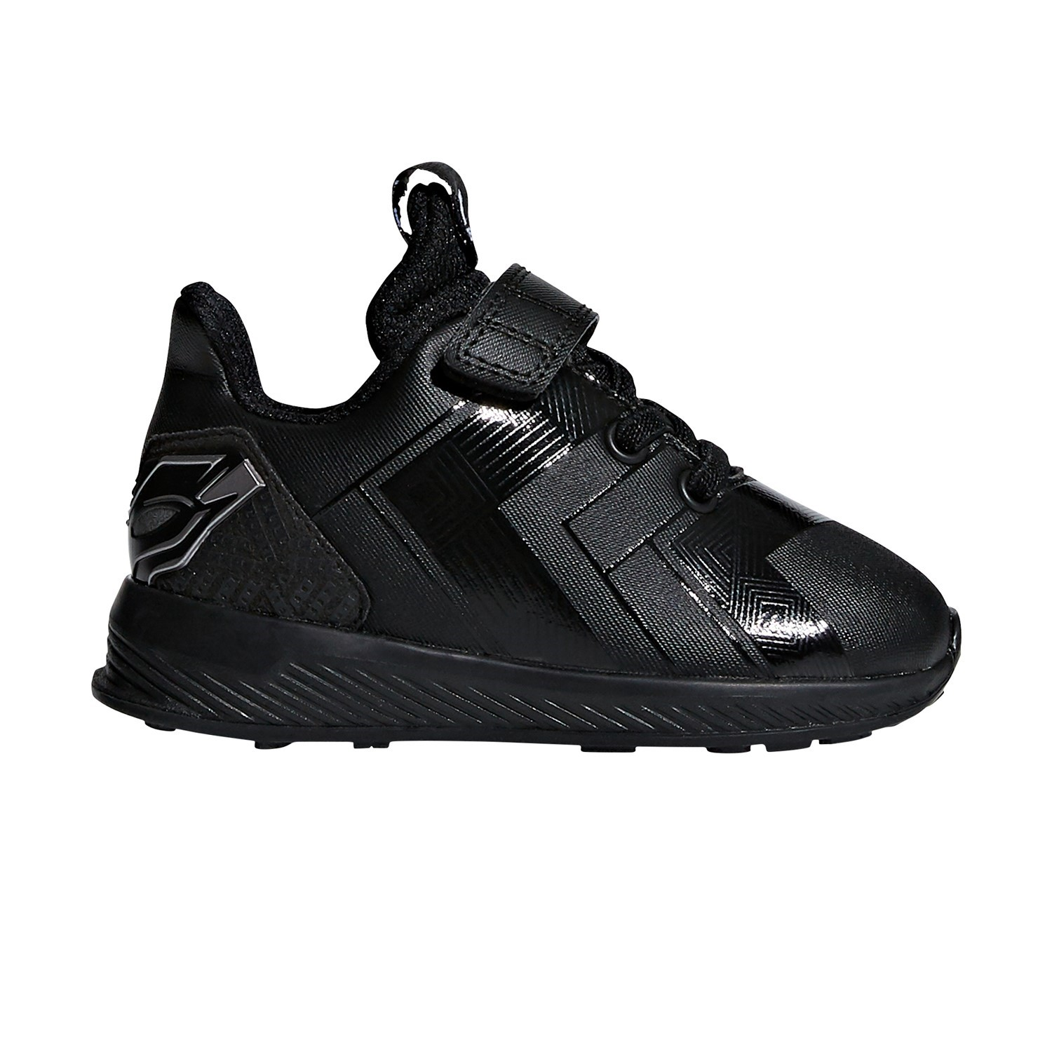 f8b47345b770 Adidas Avengers Black Panther RapidaRun - Toddler Boys Running Shoes - Black  Silver