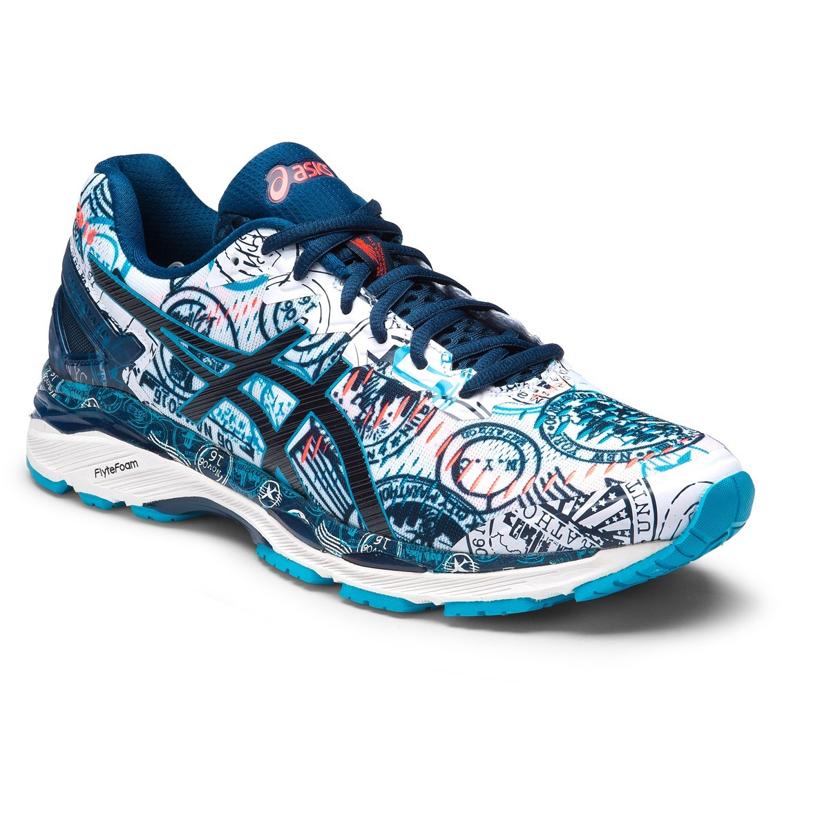 asics gel kayano 23 nyc limited edition mens running. Black Bedroom Furniture Sets. Home Design Ideas
