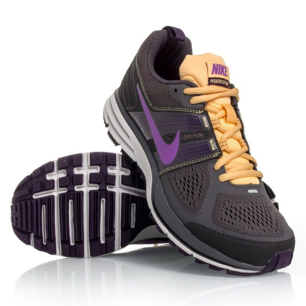 c00942f86db Nike Air Pegasus+ 29 Trail - Womens Trail Shoes - Grey Yellow Purple ...