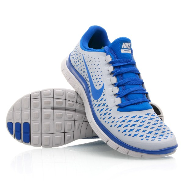 meet b30ea 67234 Nike Free 3.0 V4 (040) - Mens Running Shoes - Wolf Grey Royal