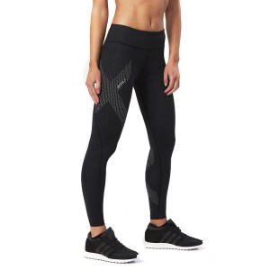 2XU Motion Mid-Rise Womens Full Length Compression Tights