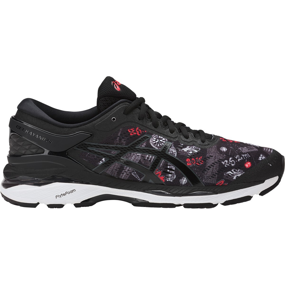 asics gel kayano 24 nyc mens running shoes limited edition online sportitude. Black Bedroom Furniture Sets. Home Design Ideas